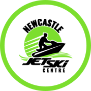 The Newcastle Jet ski centre logo.