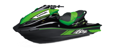 An image of the ULTRA-310R jetski, isolated.