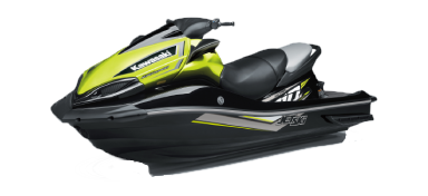 An image of an isolated ULTRA 310X jetski.